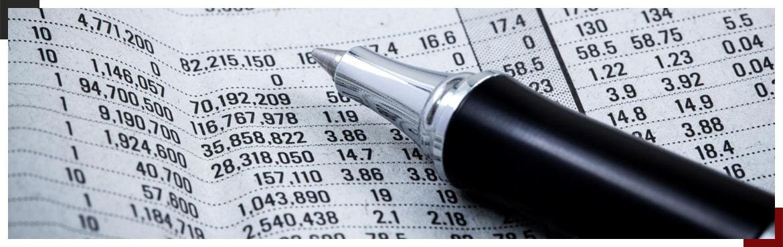 Długopis i księga rachunkowa